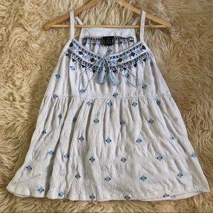 TORRID white summer blouse